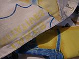 Дитяче постільна білизна бязь Миньйоны, фото 4