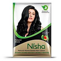 Хна для окрашивания волос TM Nisha в порошке ЧЕРНАЯ 25 г
