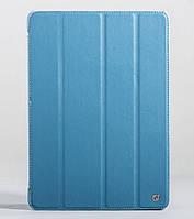 Чехол для планшета iPad Air 2, HOCO Duke trace PU case light blue