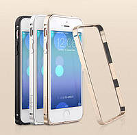 Чехол-бампер для iPhone 5/5S, Metal aluminum alloy Bumper gold (Bumperi5/5s-GD) Yoobao