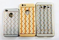 Чехол-накладка для iPhone 5/5s/SE Bumper+Rubber back cover с узором
