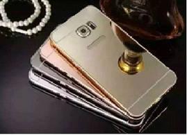 Бампер+зеркальная задняя крышка samsung S4 I9500