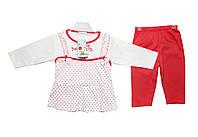 Костюм детский трикотажный двойка для девочки М 8103, фото 1