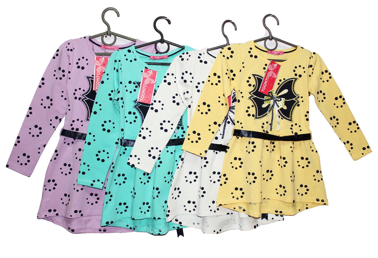 Платье детское трикотажное Tontoy 7715