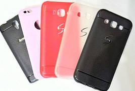 Силиконовый чехол для телефона Samsung S6 Black Shell TPU case