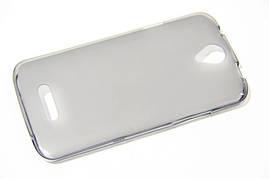 Силиконовый чехол для телефона Doogee X6 Grey Celebrity TPU cover case