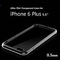 Силиконовый чехол для телефона iPhone 6 Plus Clear TPU Case 0.5 mm