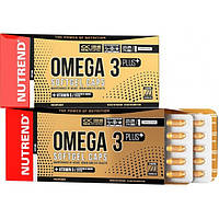 Nutrend Ненасыщенные жирные кислоты Nutrend Omega 3 Plus Softgel Caps, 120 капс.
