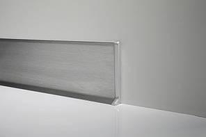 Плинтус нержавейка Profilpas Metal line 790 нержавеющая сталь 10х40х2700 мм.