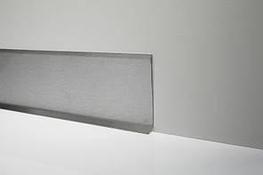 Стальной плинтус Н-40мм. Profilpas Metal Line 790 нержавеющая сталь, сатинированный