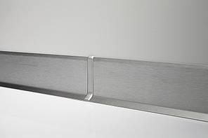 Плинтус нержавейка Profilpas Metal line 790 нержавеющая сталь 10х50х2700 мм.