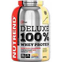 Nutrend Протеин Nutrend Deluxe 100% Whey Protein, 2250 г (ванильный пудинг)