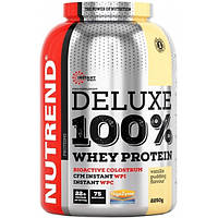 Nutrend Протеин Nutrend Deluxe 100% Whey Protein, 2250 г (шоколад-миндаль)
