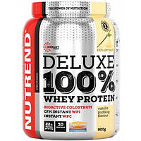 Nutrend Протеин Nutrend Deluxe 100% Whey Protein, 900 г (ванильный пудинг)