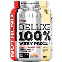 Nutrend Протеин Nutrend Deluxe 100% Whey Protein, 900 г (булочка с корицей)