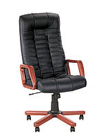 Презентабельное офисное Кресло руководителя ATLANT extra КОЖА SPLIT