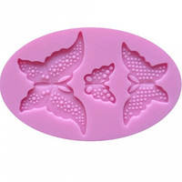 Молд силиконовый  Бабочки 3 в 1