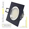 Алюминиевый светильник Hi-Tech Feron DL6102 Black Aluminium (встраиваемый потолочный) квадрат