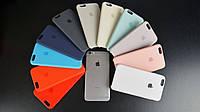 Силиконовый чехол для iPhone 6 Plus/6S Plus Original silicone case Gold