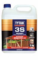 """Универсальная многофункциональная биозащита для дачной и садовой древесины ТМ """"TYTAN"""" 3S - 5 кг."""