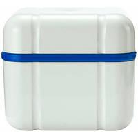 Curaprox Контейнер для сохранения зубных протезов Curadent BDC 110, синий