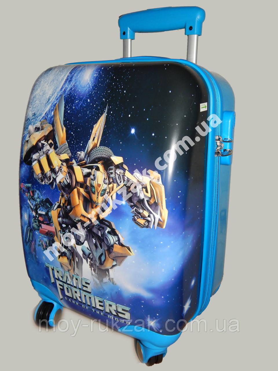 """Детский чемодан дорожный """"Josef Otten"""" Transformers-3"""