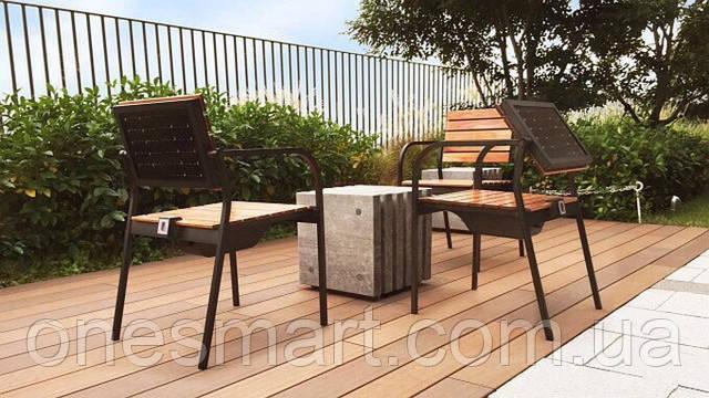 Кресло с солнечной панелью от Sharp