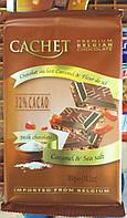 Бельгийский молочный шоколад 32% с морской солью и карамелью 300 грамм Бельгия