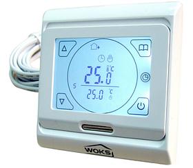 Терморегулятор для теплої підлоги Woks M 9.716 (програмований, сенсорний)