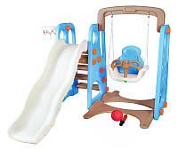 Детская игровая площадка 4в1