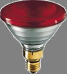 Инфракрасная лампа 150 Вт  (красные)