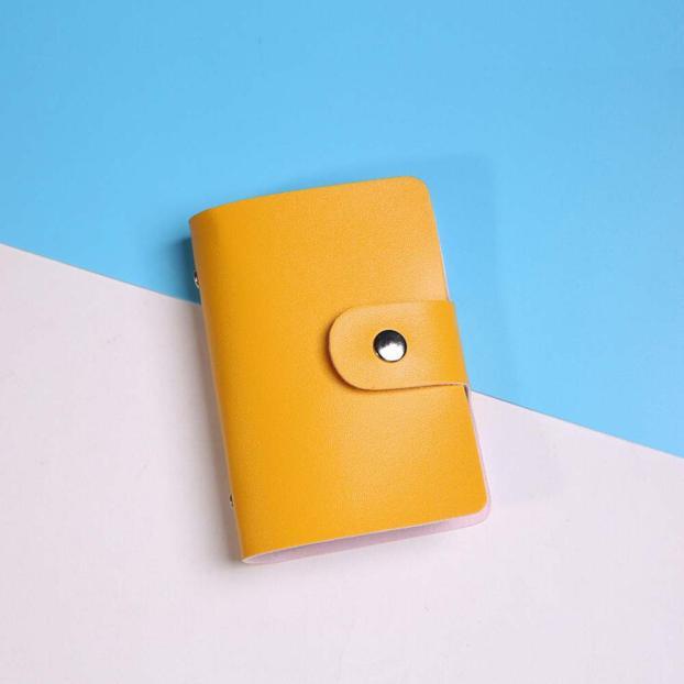 Визитница кредитница Card Holder  Yellow