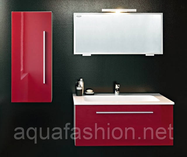 Красная мебель для ванной комнаты Kolpa San