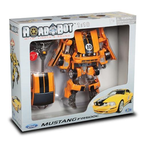 Детский робот трансформер Мустанг Бамблби 50170R Happy Well