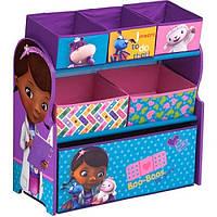 Органайзер для игрушек с ящиками Delta Disney Doc McStuffins Multi-Bin Toy Organizer