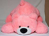 Большая мягкая игрушка медведь Умка 125 см,№3 У2-25 розовый (мишка игрушка)