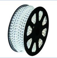Светодиодная лента LED 5050 W 100m 220V, лента светодиодная белого цвета, LED лента 5050 бухта 100m