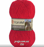 Yarnart Angora De Luxe - 156 красный