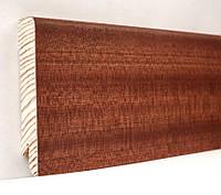 Плинтус деревянный (шпон) Kluchuk Модерн Сапеле 80х18х2400
