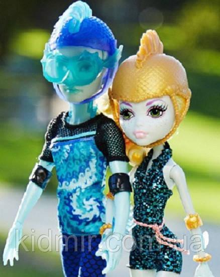 Ляльки Монстер Хай Лагуна Блю і Гіл Веббер (Lagoona & Gil Webber) в наборі Монстер Хай