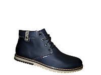 Зимние мужские ботинки синего цвета