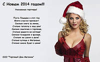 Поздравляем С Новым 2014 Годом!