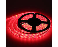 LED лента 3528 R 60RW, светодиодная лед лента для подсветки, красная led лента 5 метров IP55