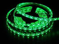 Светодиодная лента LED 5050 G (100), led лента зеленая, светодиодная лента smd 5050 60 led