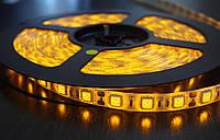 Светодиодная лента LED 5050 Y (100) желтая, led лента 5050 smd 5 метров, лента светодиодная для дома