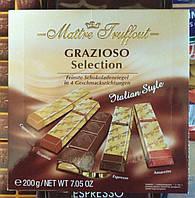 Австрийский шоколадный набор ассорти Maitre Truffout Grazioso Selection 200 gramm