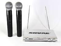 Радиосистема ShureDM SH-500 2 радиомикрофона, радиомикрофоны для вокала, двухмикрофонная радиосистема