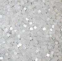 Чешский бисер Preciosa 846-05051, рубка сатин