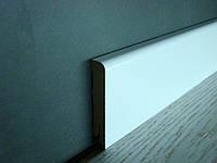 Плинтус МДФ W24 с пвх-пленкой белый 70x14x2400 мм