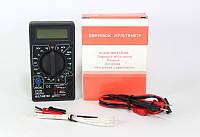 Мультиметр универсальный DT 838, портативный тестер вольтметр амперметр, цифровой мультиметр